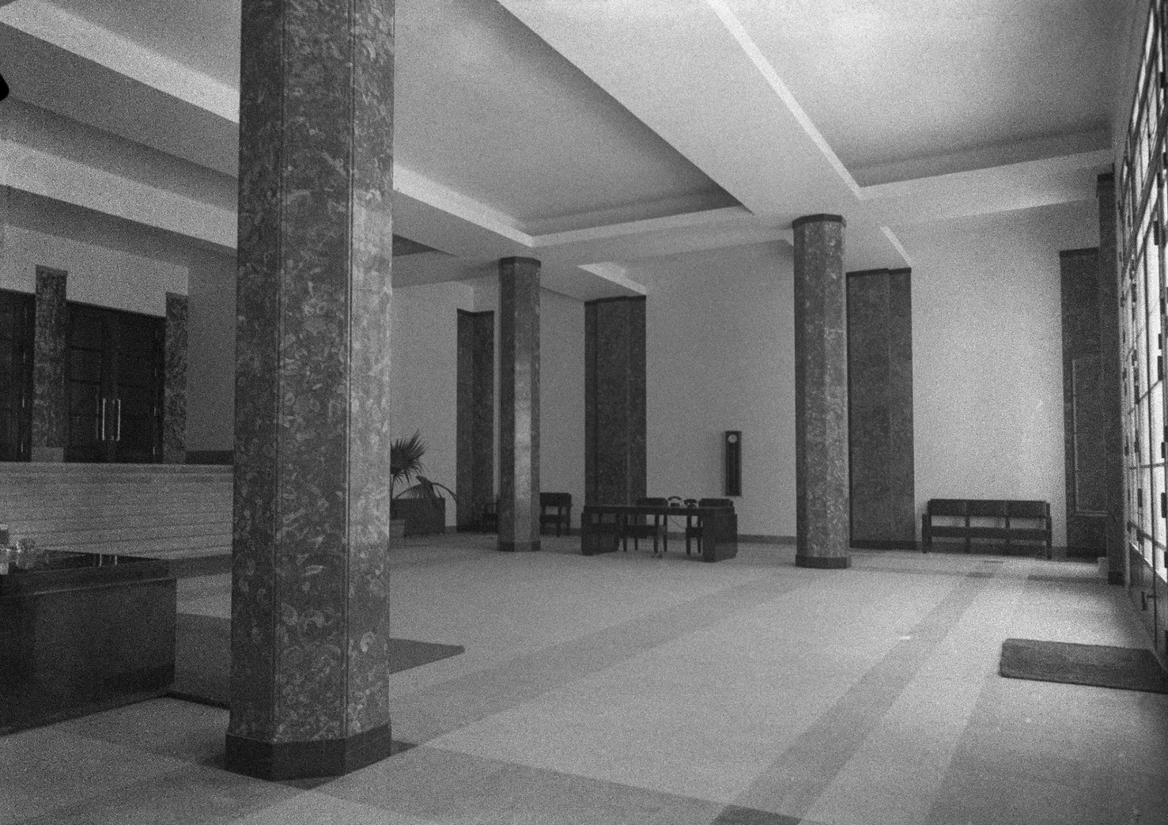Interiores do edifício